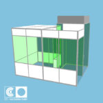 CAD einer Einhausung