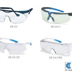 UV-Schutzbrille für die Partikel Visualisierungs Lampe PVL-2 und PVL-3